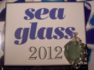seaglass for New Year's Day