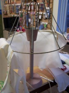 restore an old lamp