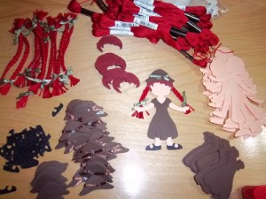 paper doll Anne of Green Gables