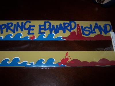Border of Prince Edward Island