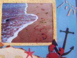 scrapbooking beach