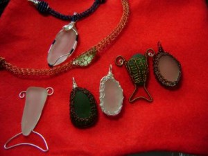 netted seaglass