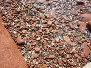 seaglass of PEI