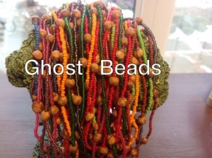 Ghost Bead Necklace