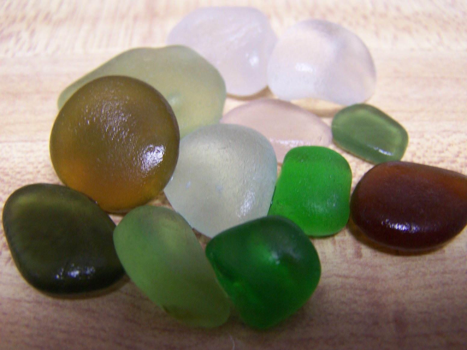 raw sea glass