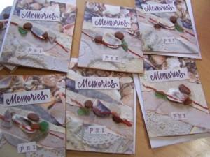 Memories of PEI Sea Glass Cards